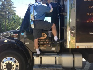 locked out of truck
